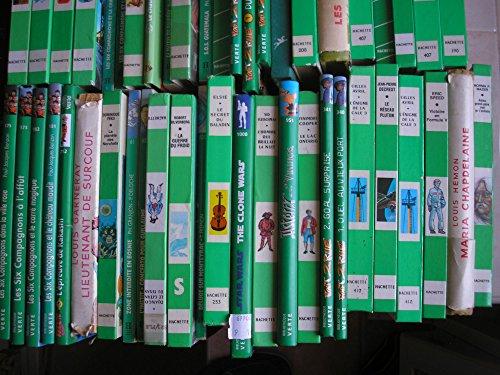 lot 48 livres collection bibliotheque verte : les six compagnons - alice - foot 2 rue - victoire en formule V - déluge sur monteyrac - la guerre du froid - les exilés dans la foret - zone interdite en bosnie - la planete des norchats - lieutenant de surcouf - la maison de poupées - beast quest le secret des nomades d'iran etc... par Y. M. loiseau - louis garneray - dominique péko - philippe granjon - caroline quine - mayne reid - robert silverberg - yves frémion - éric speed - paul jacques bonzon etc... (Poche)