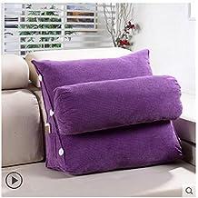 de llenado estndar cabecero de cama tringulo grande acolchado del respaldo de oficina cojn lumbar sof cama cuello enfermera