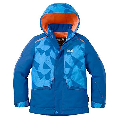 Jack Wolfskin SNOW RIDE JACKET KIDS Skijacke - glacier blue - 152