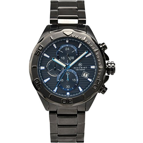 Homme Accurist montre chronographe 7182