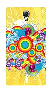 SWAG my CASE PRINTED BACK COVER FOR XIAOMI REDMI 1S Multicolor