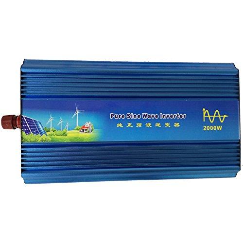 Preisvergleich Produktbild Holdwell DC 48V auf AC 220V AC200–240V Power reiner Sinus Wechselrichter 2000W