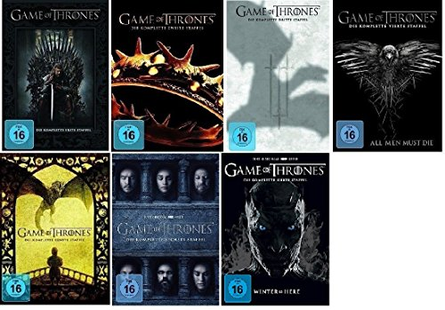 Game of Thrones Staffel 1-7 (1+2+3+4+5+6+7) [DVD Set] -