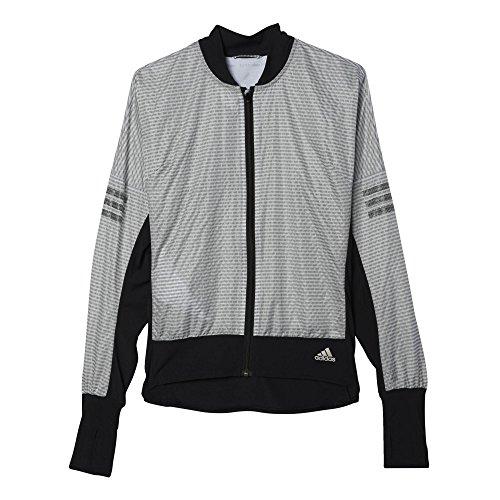 adidas Damen Sweatshirt AZ CP Jacket W Schwarz, S Adidas Nylon-pullover