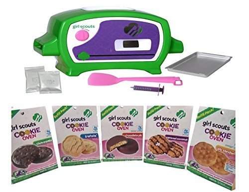girls-scout-cookie-oven-and-5-cookie-refill-mixes-thin-mints-caramel-coconut-pb-sandwich-chocolate-p