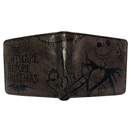Brieftasche Vorverkauf/Alptraum Vor Weihnachten Brieftasche Mit Reißverschluss Münzfach Kreditkartenfach, Cw -04