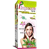 Pimpcure Syrup 200 Ml Combo Pack With Free Neem Face Wash 50 Ml Free By Aditya Mediherbs