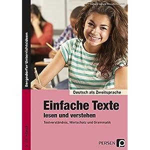 Jetzt herunterladen pdf Einfache Texte lesen und verstehen: Materialien für einen integrativen Sprachunterricht (5. bis 10. Klasse) (Deutsch als Zweitsprache syst. fördern