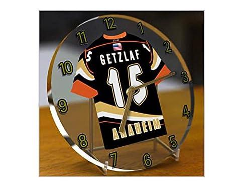 NHL Ligue nationale de hockey–Western Conférence–Division Pacifique Jersey Bureau Horloges–N'importe Quel Nom, n'importe quel Nombre, n'importe quelle équipe–Sans personnalisation. Anaheim Ducks