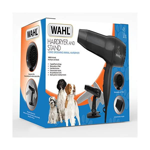 Wahl Pet Hairdryer and Stand, Black 5