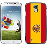 STPlus España Bandera española Carcasa Funda Rigida Para Samsung Galaxy S4