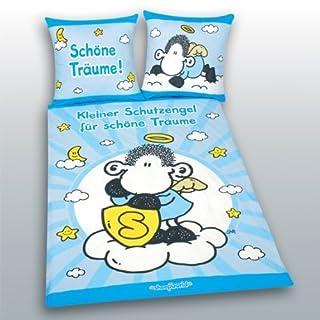 Bettwäsche Sheepworld Schutzengel SONDERMODELL 135 x 200 cm Geschenk NEU WOW - All-In-One-Outlet-24 -