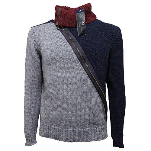 55282 dolcevita maglione DANIELE ALESSANDRINI MAGLIA uomo sweater men [46]