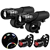 Blinkle Bike Light Set B001 LED Batteries Powered Safety Bicycle...