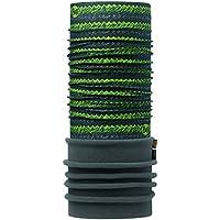 Original Buff 113108.845.10.00 Tubular de Microfibra y Forro Polar, Hombre, Verde, Talla Única