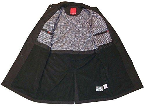 Men's Carter & Jones Rain Coat Black Navy Beige S to 5X Schwarz
