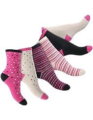 6 Paar Damen Socken - Komfortbund ohne Gummi - Top Qualität von celodoro