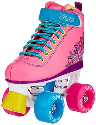 SFR Vision II Rollschuhe Disco Roller Kinder pink tropical tropical, 32