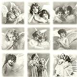 Qualitäts Servietten Vintage Photo Kinder beten 20 x 3-lagig 33x33cm