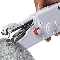 Generic VRUGRA Electric Mini Sewing Machine Handheld Handy Stitch Machine,Craft Sewing Machine, Mini Lightweight Stitch…