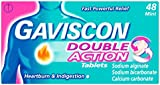 Gaviscon Double Action Mint Tablets, Pack of 48 Tablets