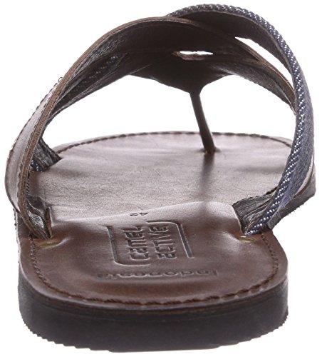 camel active Indonesia 11 Herren Zehentrenner Braun (mocca/jeans)