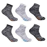 Best Chaussettes sportives - L&K Lot de 6 homme chaussettes sportive multicolore Review
