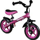 Bicicletta senza pedali - Balance bike - Bike - Biciclette per bambini - Bici - Prima bicicletta ARTI Speedy M Luxe Pink/Rosa First Bike