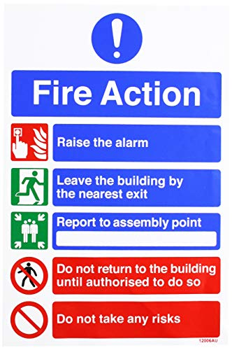 VSafety General Fire Action 5 Me...