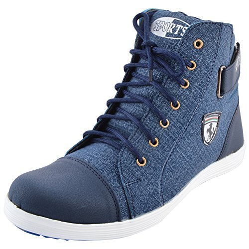 Essence Men's Blue Casual Shoe - 9