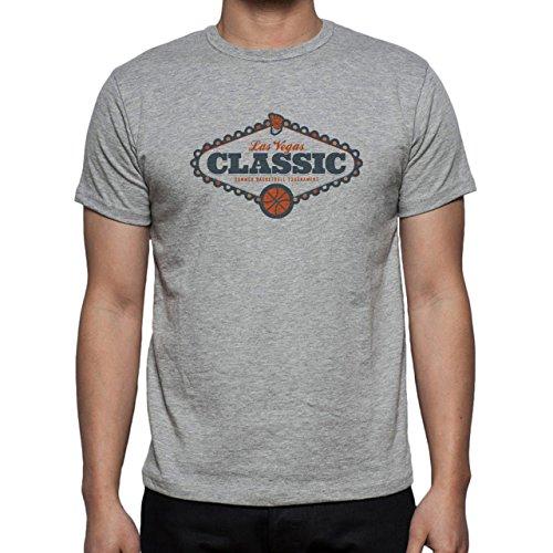 Las Vegas Summer Basketball Tournament Herren T-Shirt Grau