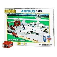 Daron Airbus A380 & Airport Brick Building Set & Mat