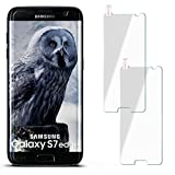 moex 2X 9H Panzerfolie für Samsung Galaxy S7 Edge | Panzerglas Display Glasfolie [Tempered Glass] Screen Protector Glas Displayschutz-Folie für Samsung Galaxy S7 Edge Schutzfolie