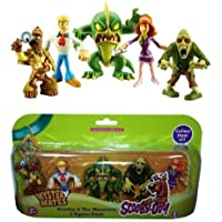 Mates Misterio Scooby Doo - Scooby y The Monsters 5 Figura Pack - Pack 1