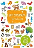 Glitzerspaß Tier-Sticker
