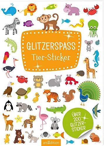 Glitzerspaß Tier-Sticker ()