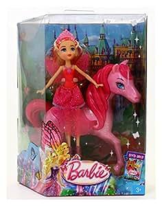 Mattel Barbie Papillon avec ses ailes à paillettes