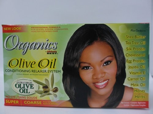 Africa's Best Organique Relaxer Kit-Super