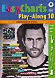 Easy Charts Play-Along: Die größten Hits spielerisch leicht gesetzt. Band 10. C/Eb/Bb-Instrument. Ausgabe mit Online-Audiodatei. (Music Factory) - Uwe Bye
