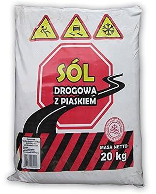 50 Sack á 20 kg Streusalz-Sand-Kies-Gemisch (1 Palette) - FREI HAUS INNERHALB DEUTSCHLAND!