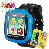Kids Boys Set Schermo Tactil Orologio Intelligente per bambini bambine bambini con Camara gioco podometro Timer Sveglia Toy Smartwatch Orologio Monitor di salute