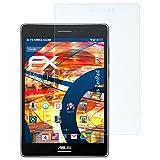atFolix Schutzfolie kompatibel mit Asus ZenPad S 8.0 Panzerfolie, ultraklare und stoßdämpfende FX Folie (2X)