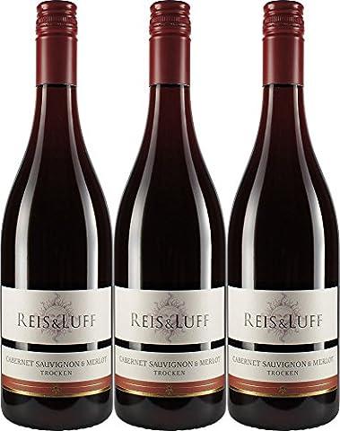 Reis & Luff Cabernet Sauvignon/ Merlot Barrique Rotwein 2006 Trocken (3 x 0.75 l)