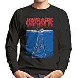 Jawrassic World Mosasaurus Jurassic Jaws Men's Sweatshirt