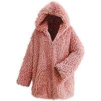 Hanomes Damen pullover, Frauen Winter Warm Dicker Mantel Solide Kapuzenjacke Jacke Strickjacke Mantel preisvergleich bei billige-tabletten.eu
