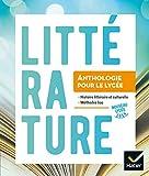 Anthologie Lycée - Français 2de/1re Éd. 2019 - Livre élève...