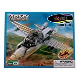 #6: Adraxx DIY Hobby 3D Fighter Plane Model Assembling Kit