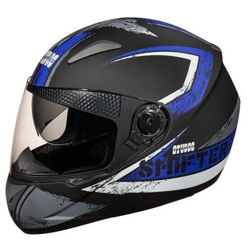 Studds Shifter D1 Helmet (Matt Black N1, M)