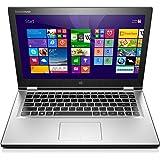Lenovo Yoga 2 13 33,8 cm (13,3 Zoll FHD IPS) Convertible Ultrabook (Intel Core i3-4030U, 1,9GHz, 4GB RAM, 128GB SSD, Intel HD Graphics 4400, Touchscreen, Win8.1) hellsilber