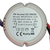 12W LED Trafo 12V DC 0